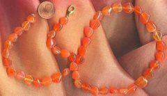 Karneol als Halskette
